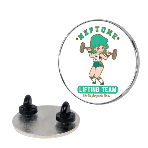 Neptune Lifting Team Parody Pin