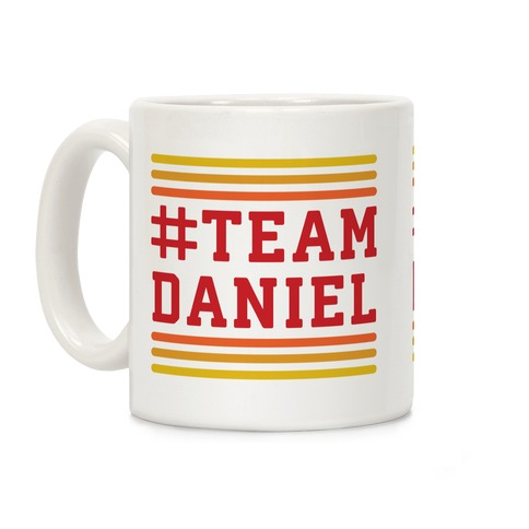 Team Daniel Coffee Mug