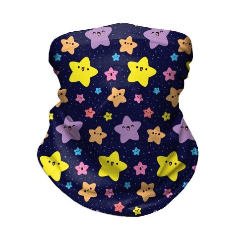 Cute Stars Pattern Neck Gaiter
