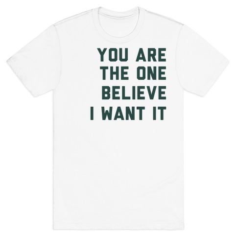 I Want It That Way Lyrics (1 of 2 pair) T-Shirt