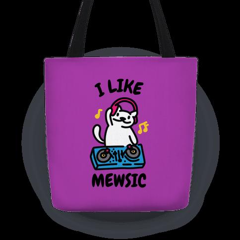 I Like Mewsic Tote