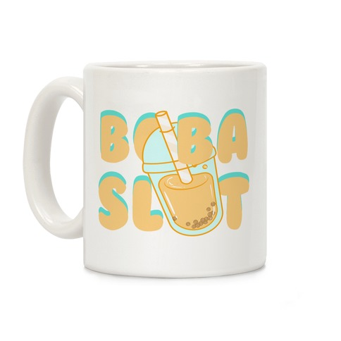 Boba Slut (orange) Coffee Mug