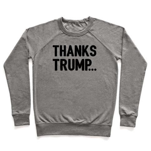 Thanks Trump Pullover