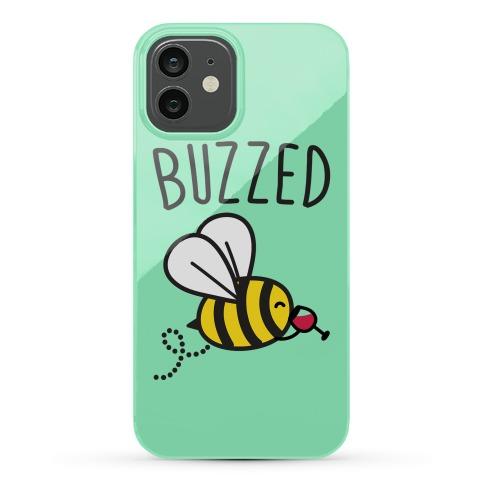 Buzzed Wine Bee Phone Case