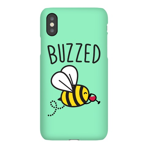 Buzzed Wine Bee Phone Case