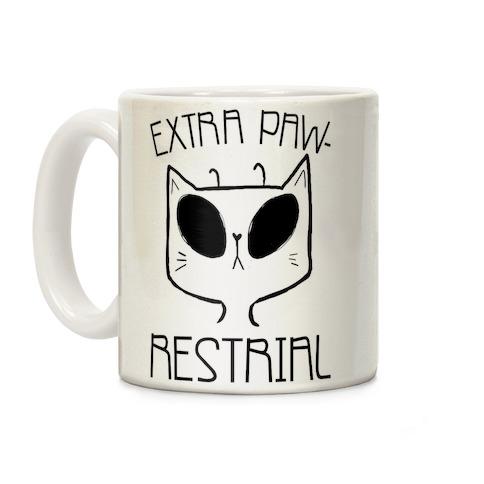 Extra Pawrestrial Coffee Mug
