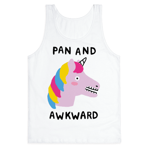 Pan And Awkward  Tank Top