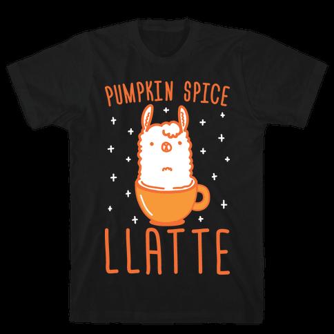 Pumpkin Spice Llatte Mens T-Shirt