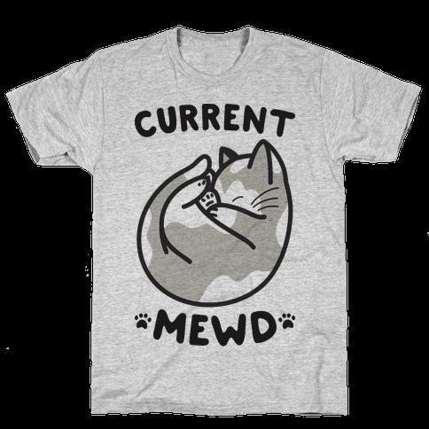 Current Mewd: Catnap Mens T-Shirt