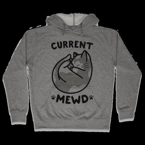 Current Mewd: Catnap Hooded Sweatshirt
