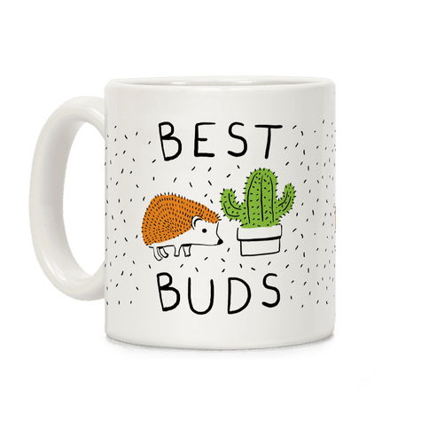 Best Buds Hedgehog Cactus Coffee Mug