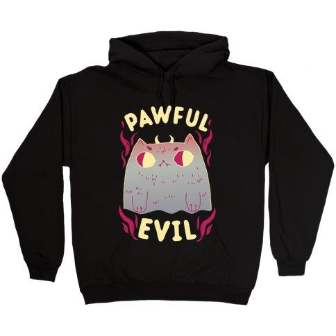 Pawful Evil Hooded Sweatshirt