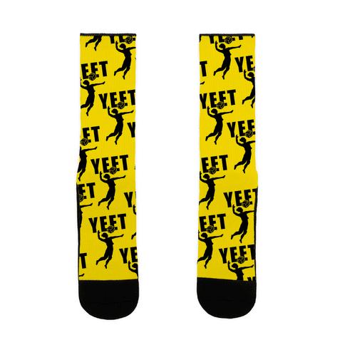 Volleyball YEET Sock