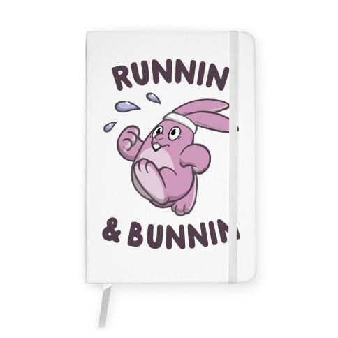 Runnin' And Bunnin' Notebook
