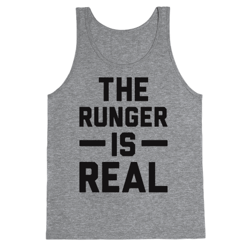 The Runger Is Real Tank Top