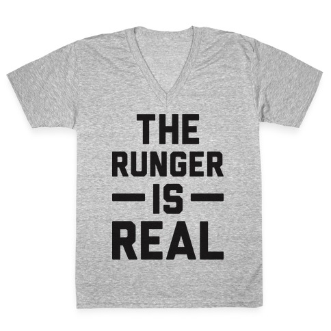 The Runger Is Real V-Neck Tee Shirt
