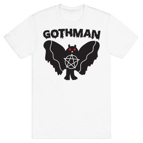 Gothman Goth Mothman T-Shirt