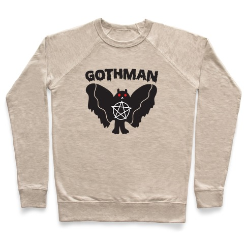 Gothman Goth Mothman Pullover
