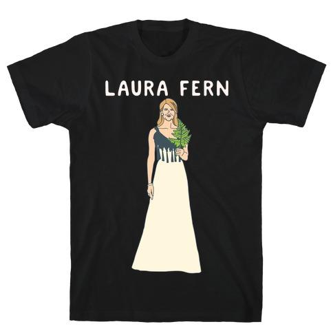Laura Fern Parody White Print T-Shirt