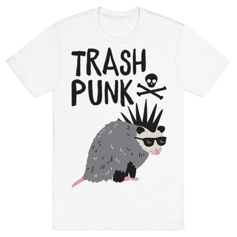Trash Punk Possum T-Shirt