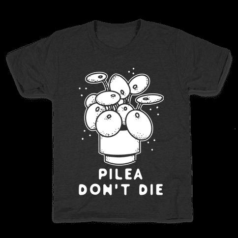 Pilea Don't Die Kids T-Shirt