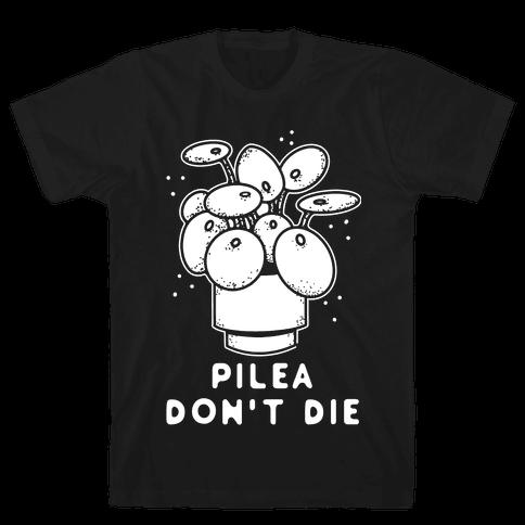 Pilea Don't Die Mens/Unisex T-Shirt