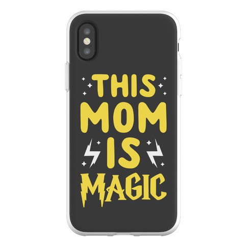 This Mom Is Magic Phone Flexi-Case
