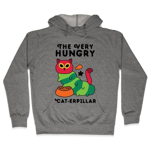 The Very Hungry Cat-erpillar Hooded Sweatshirt