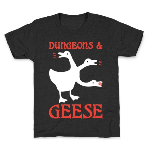 Dungeons & Geese Kids T-Shirt