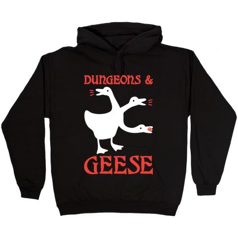 Dungeons & Geese Hooded Sweatshirt