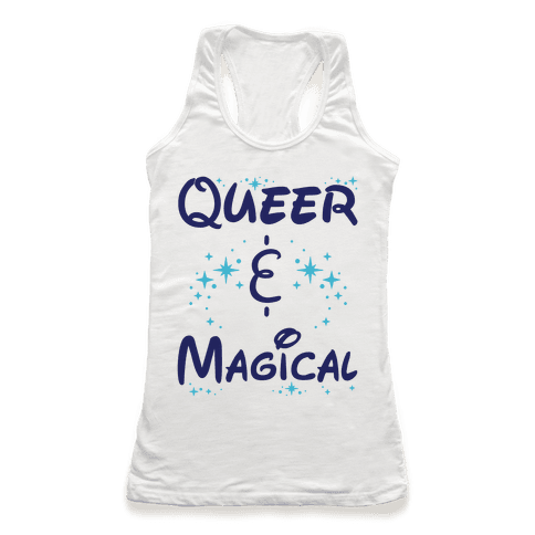 Queer and Magical Racerback Tank Top