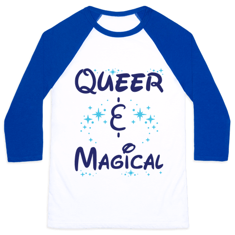 Queer and Magical Baseball Tee