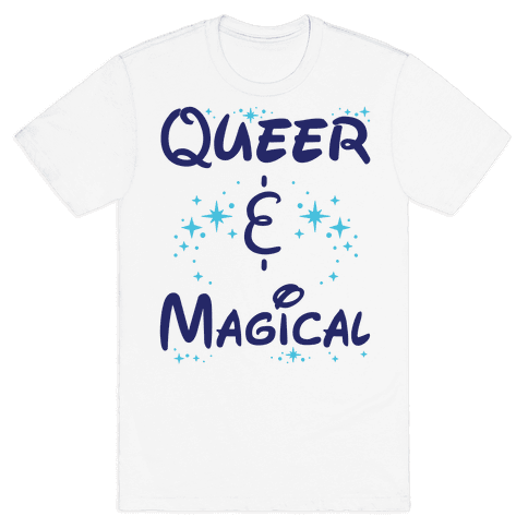 Queer and Magical Mens T-Shirt
