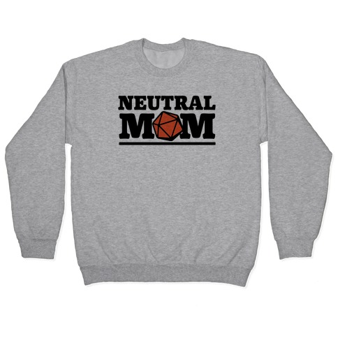 Neutral Mom Pullover