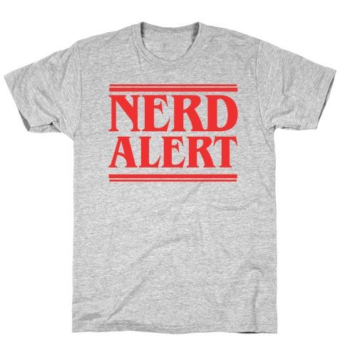 Nerd Alert - Stranger Things T-Shirt