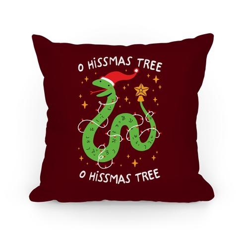 O Hissmas Tree Pillow