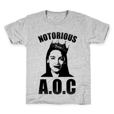 Notorious AOC (Alexandria Ocasio-Cortez) Kids T-Shirt