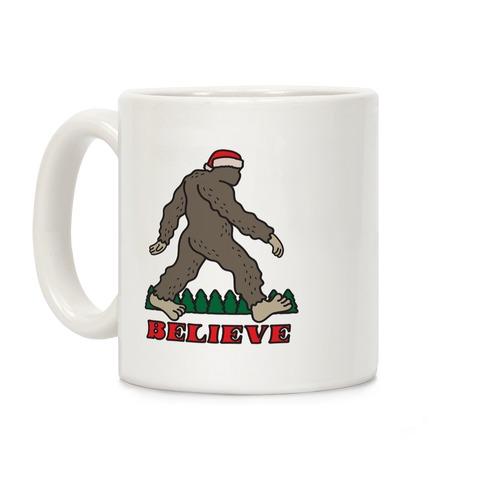 Santa Sasquatch Coffee Mug