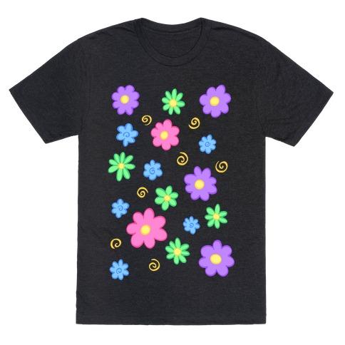 Doodle Flowers T-Shirt