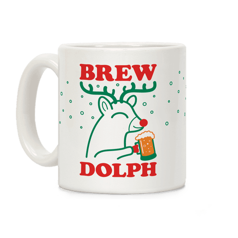 Brewdolph Coffee Mug
