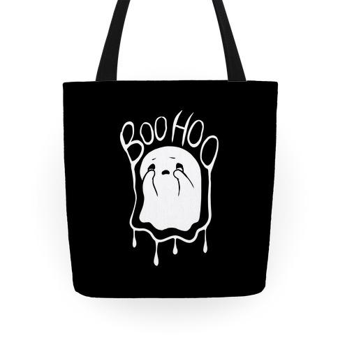 Boo Hoo Sad Ghost Tote