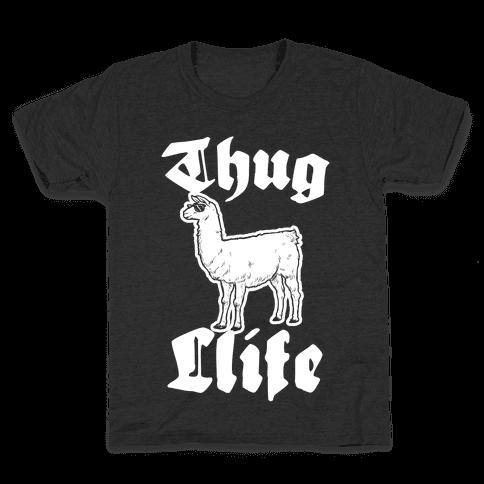 Thug Llife (llama) Kids T-Shirt