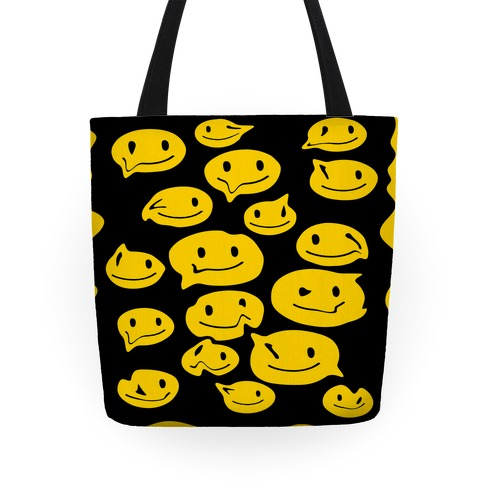 Melting Smiley Faces Tote