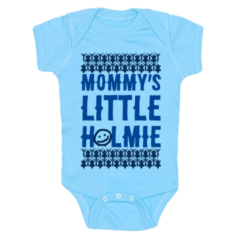 Mommy's Little Holmie Baby Onesy