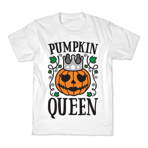 Pumpkin Queen Kids T-Shirt