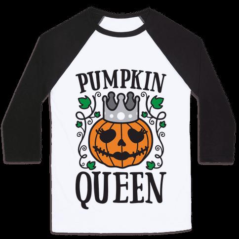 Pumpkin Queen Baseball Tee