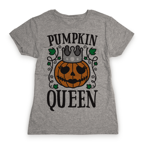 Pumpkin Queen Womens T-Shirt