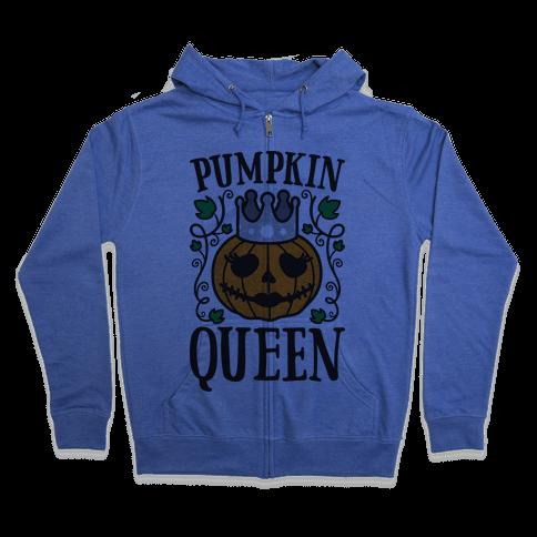 Pumpkin Queen Zip Hoodie