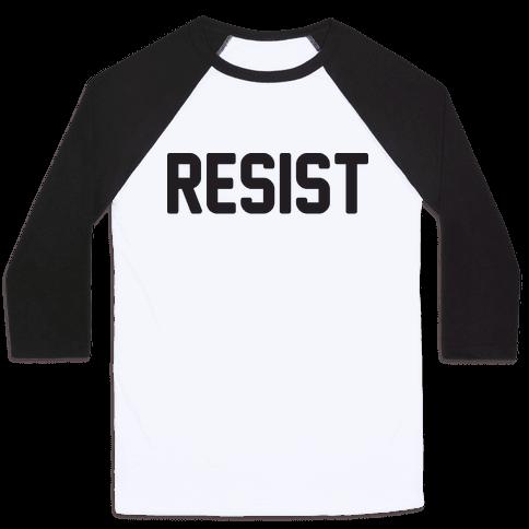 Resist Baseball Tee