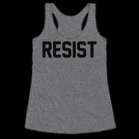 Resist Racerback Tank Top